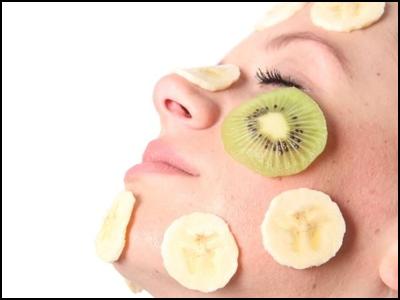 Masque visage banane